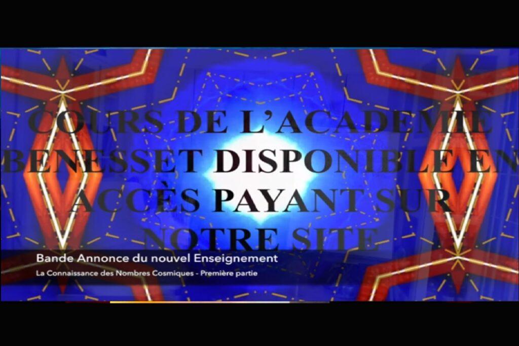 REPLAY : LA CONNAISSANCE DES NOMBRES COSMIQUES